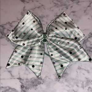 Starbucks Cheer Bow with Swarovski Crystals!